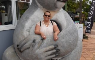 Kaity and a Koala at Montville
